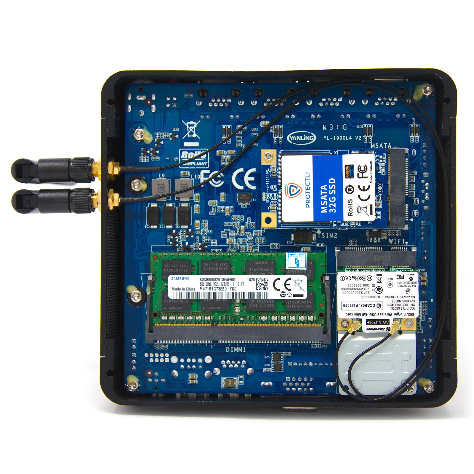 FW1 – 4 Port Intel® J1900