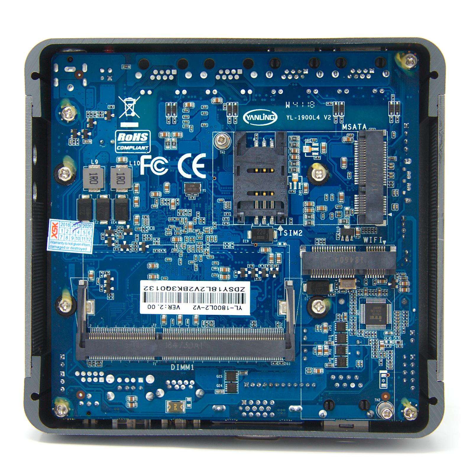 FW2 – 2 Port Intel® J1800