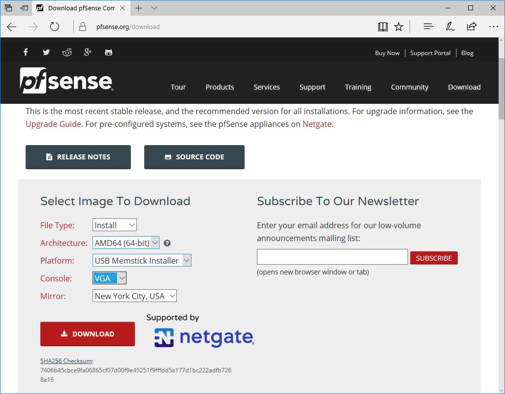 Pfsense Download