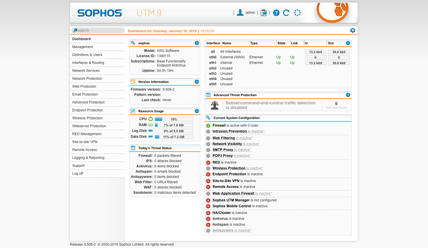 How to Install Sophos UTM 9 6 on the Vault – Protectli