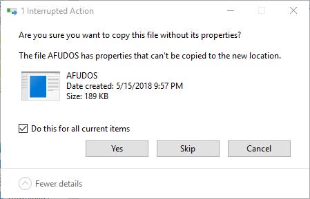 Select USB Drive