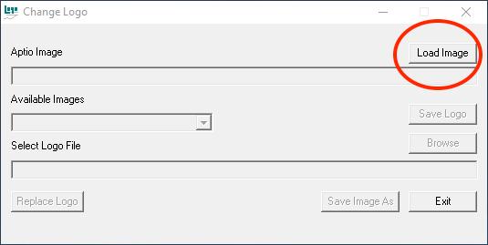 BIOS logo tool - load image