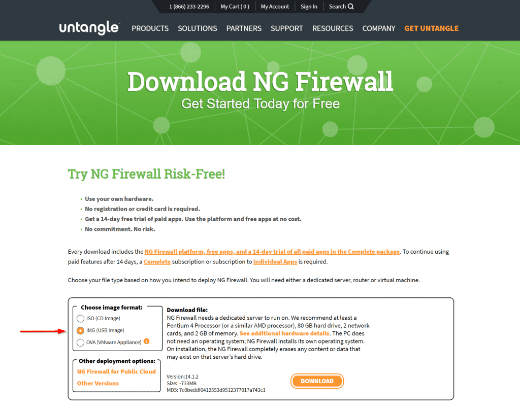 download ng firewall