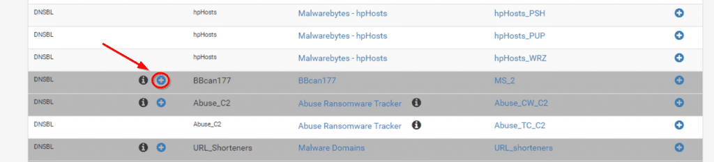pfBlockerNG feeds
