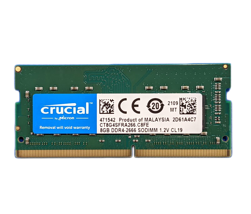 Crucial DDR4 SO-DIMM Memory Module – 8GB