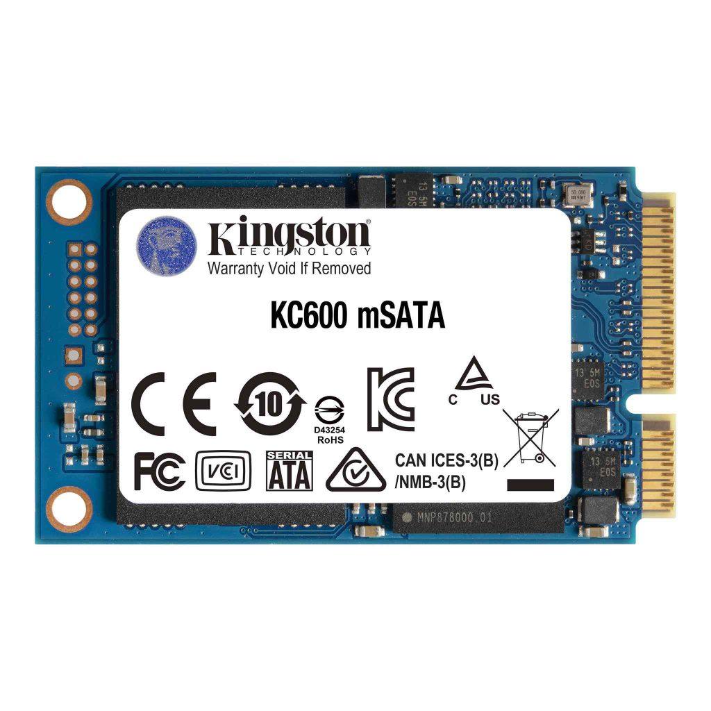 Kingston mSATA KC600 Module - 256GB